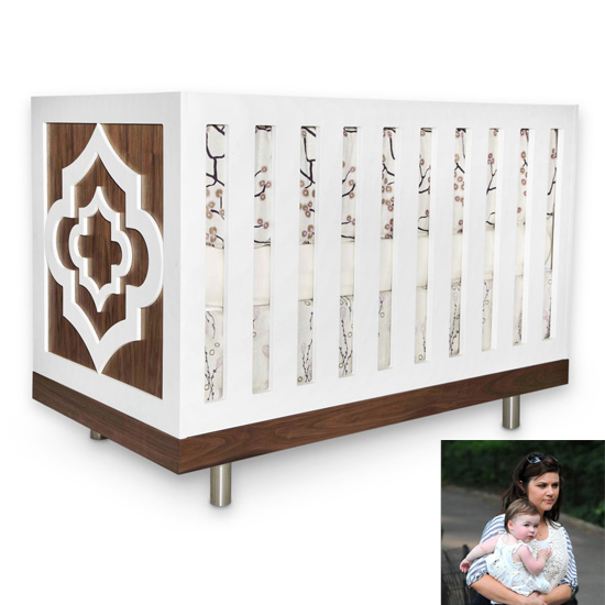 Tiffani Thiessen: Petit Nest Alouette Crib ($1,490)