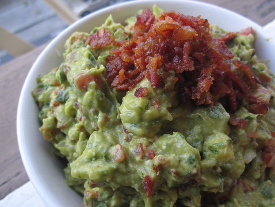 Modern Update: Bacon-and-Tomato Guacamole