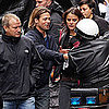 Brad Pitt Pictures Shooting World War Z in Glasgow