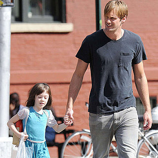 Alexander Skarsgard on the Set of What Maisie Knew Pictures