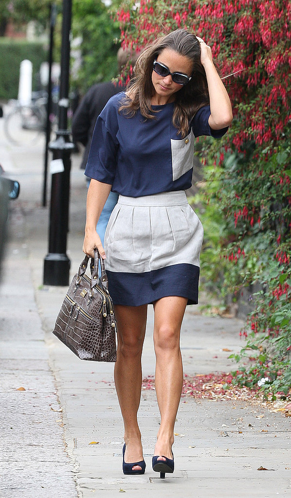 Pippa Middleton in London.