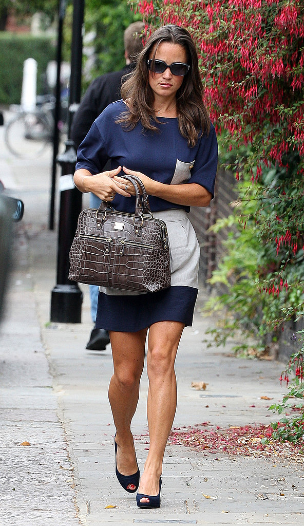 Pippa Middleton in a cute Summer outfit.