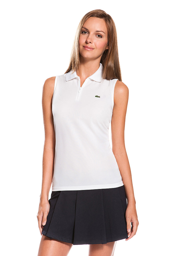Sleeveless Super Dry Zip Polo