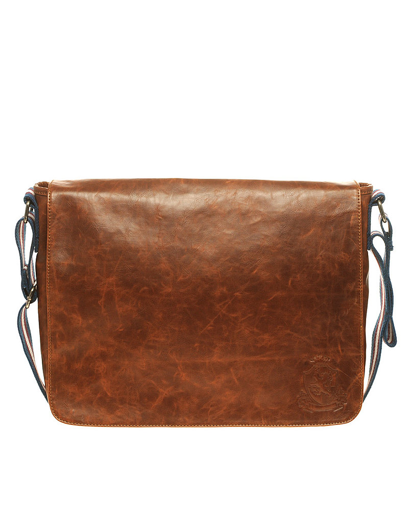 This messenger bag has a cool worn-in look. River Island Messenger Bag ($43)