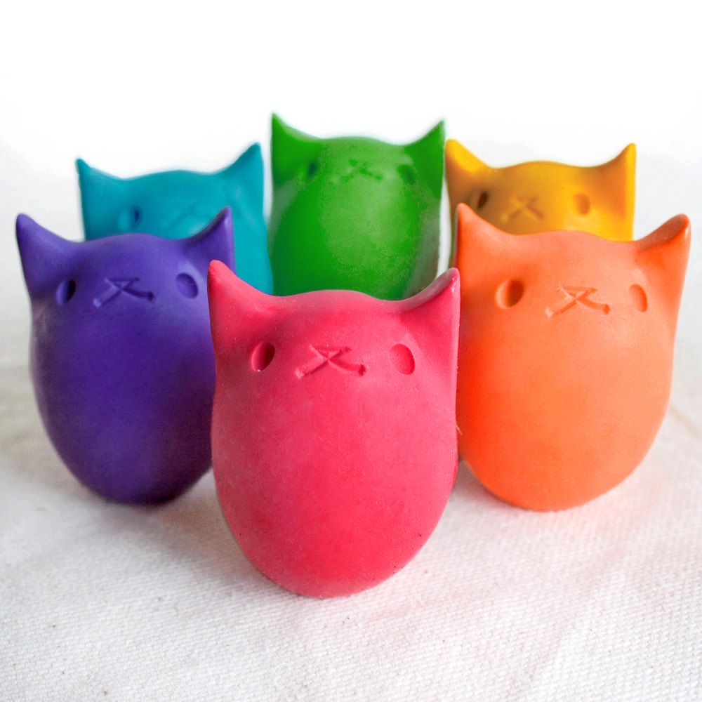 Kitty Egg Crayon ($8)