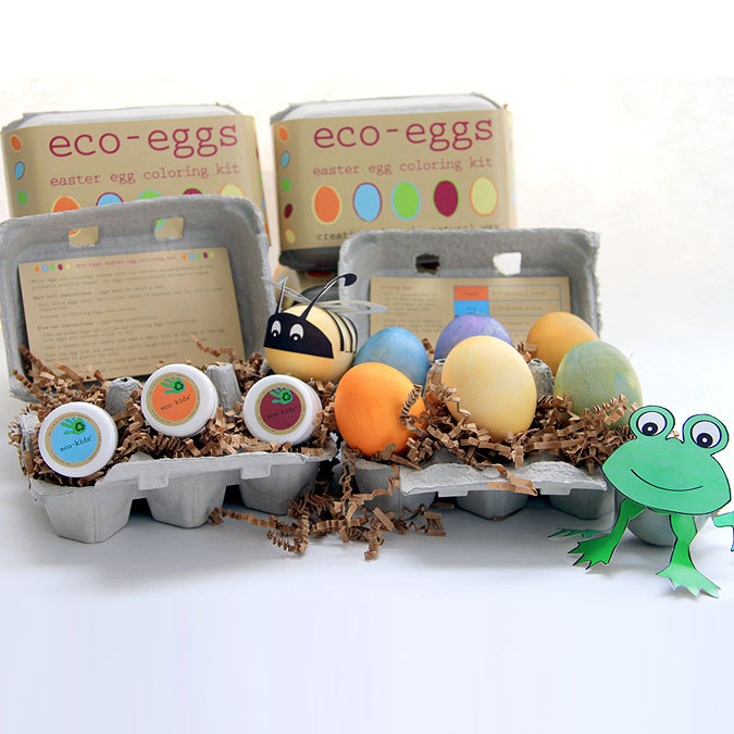Eco Eggs Easter Egg Coloring Kit ($16)