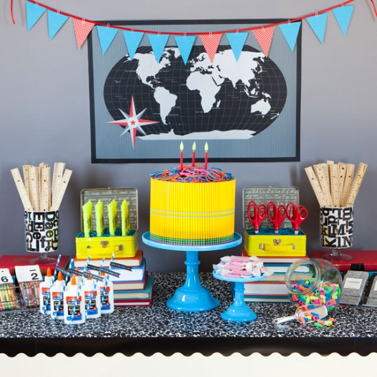 Faux Dessert Table