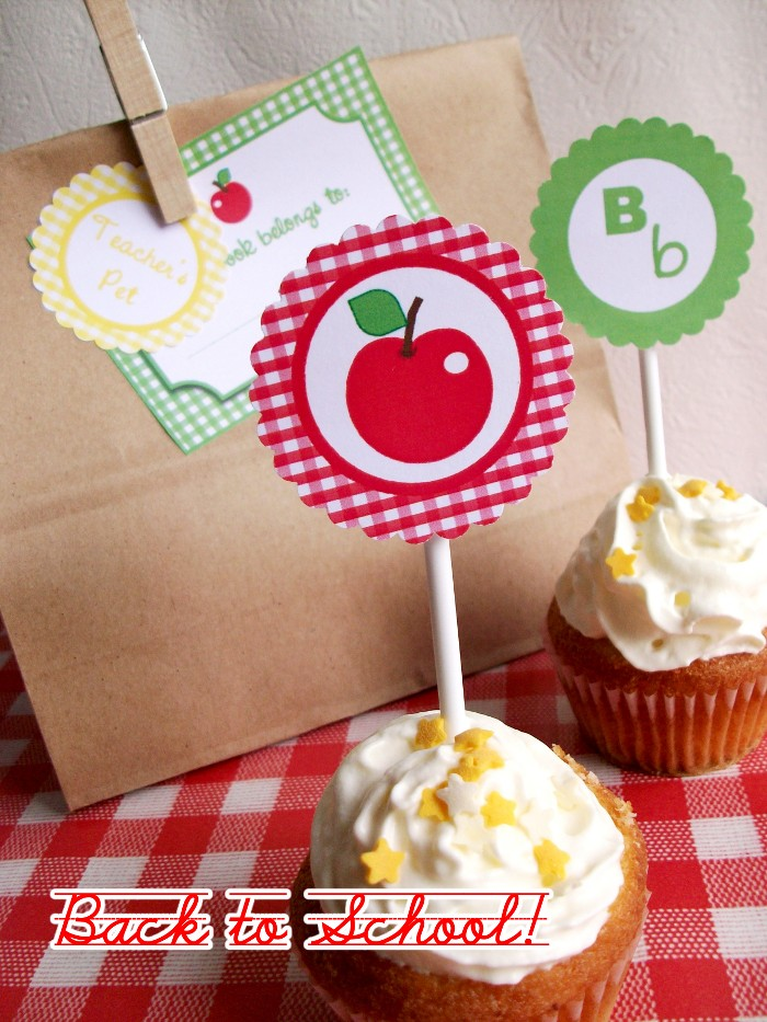 Party and Lunchtime Printables (free)