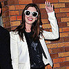 Pictures of Anne Hathaway at Daily Show With Jon Stewart