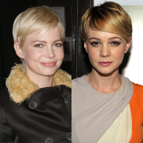 Michelle Williams and Carey Mulligan: Classic Pixie