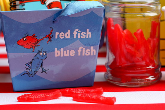 One Fish, Two Fish Party Favors