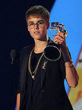 Justin Bieber at the 2011 MTV VMAs.