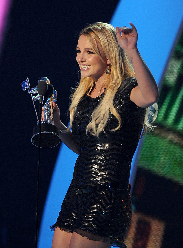 Britney Spears at the 2011 MTV VMAs.