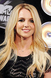 Britney Spears Shows Leg in a Sequin Romper at the MTV VMAs