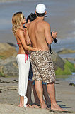 Bikini-Clad LeAnn Rimes Splashes Around in Malibu During Her Pre-Birthday Bash!