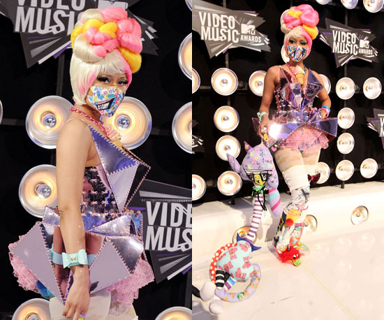 Nicki Minaj at 2011 MTV VMAs