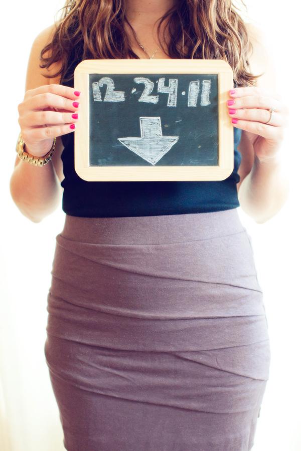 Due-Date Chalkboard