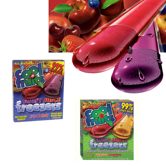 Cool Fruits Freezer Pops