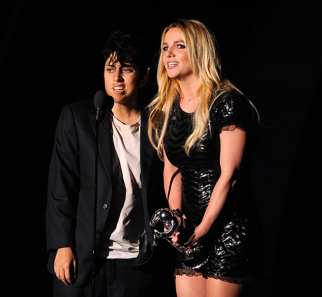 Jo Calderone and Britney Spears Share a Moment at the VMAs