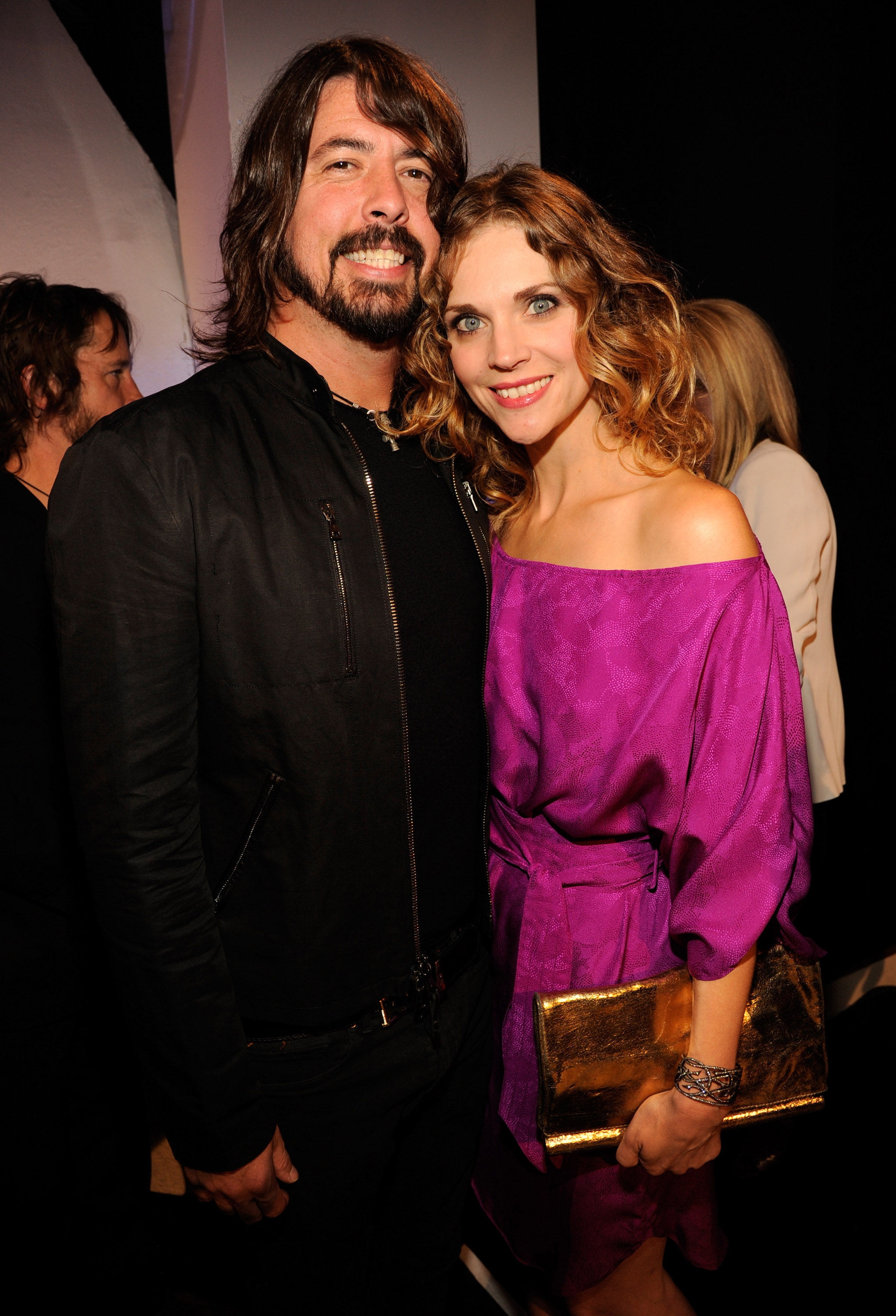 Foo Fighters Dave Grohl And Wife Jordyn Blum Arrived At