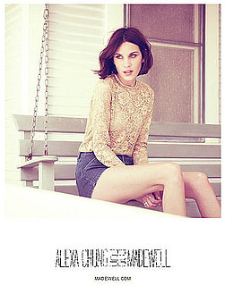 Alexa Chung for Madewell Fall 2011 Campaign [Pictures]