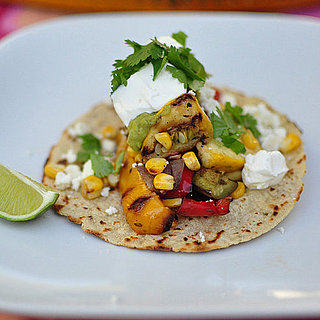 Grilled Vegetarian Tacos With Barbecued Guacamole