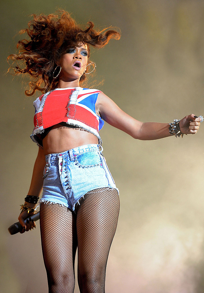 Rihanna rocked the V Festival.