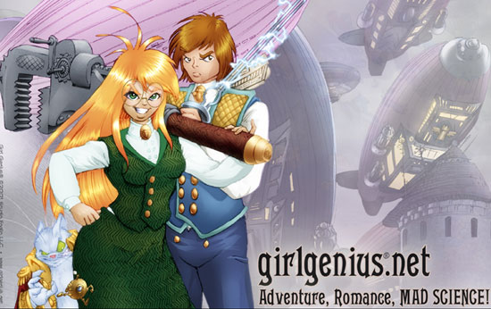 Recipient of Best Graphic Story is Girl Genius, Volume 10: Agatha Heterodyne and the Guardian Muse. The story of Agatha Clay, a female scientist with superpowers of her own is written by Phil and Kaja Foglio with art by Phil Foglio.