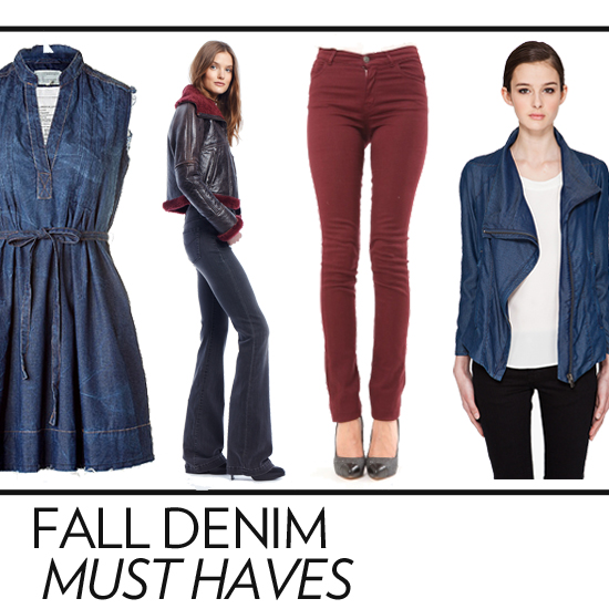 Editor's Picks: Our Denim Must Haves