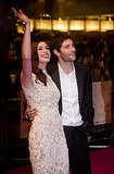 Anne Hathaway and Jim Sturgess greeted fans.
