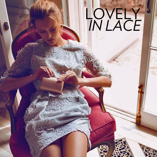 Lace Dresses That Will Make You Feel Ladylike — and Just a Little Sexy