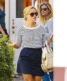 Reese Witherspoon went shopping at the Brentwood Country Mart in LA.