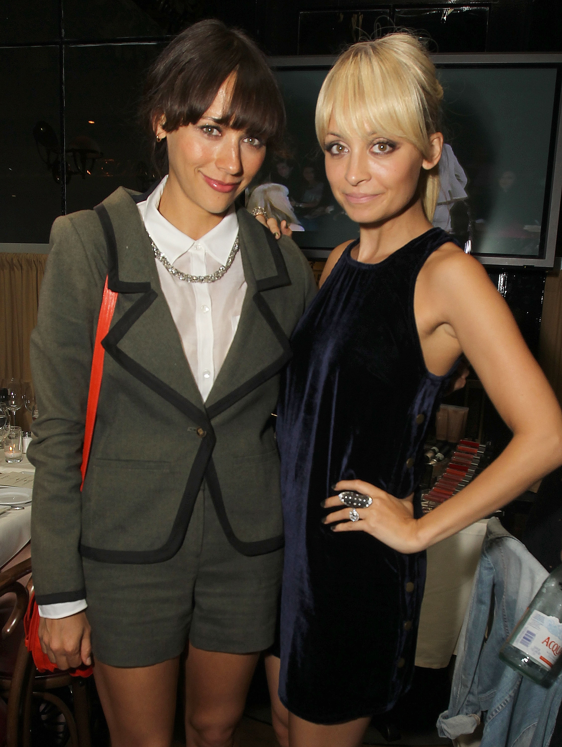 Rashida Jones and Nicole Richie posed together.
