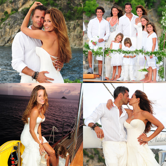 See Pictures of Brooke Burke and David Charvet's Surprise Sunset Wedding!