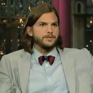 Video: Ashton Kutcher Talks About Charlie Sheen and Two and a Half Men on The Late Show With David Letterman