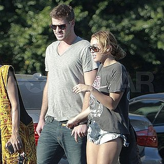 Miley Cyrus and Liam Hemsworth Date Pictures in LA