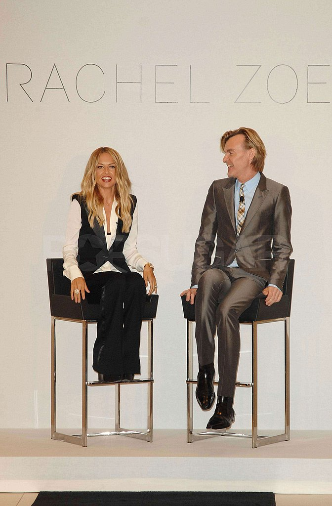 Rachel Zoe chatted with Neiman Marcus creative director Ken Downing.