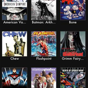 Comic Book App For iPad