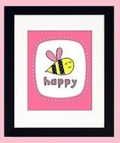 Bee Happy Print ($22)