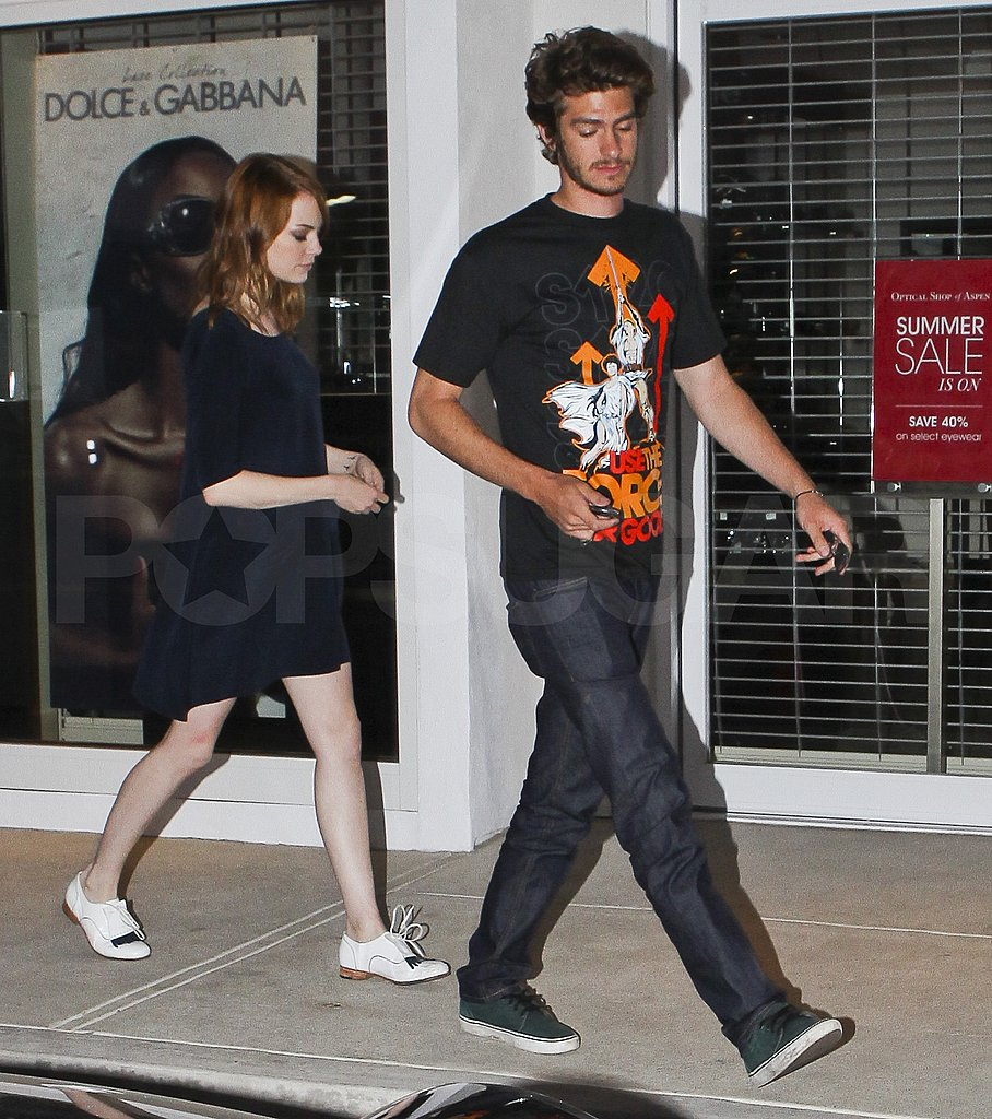 Emma Stone and Andrew Garfield went out on a date.