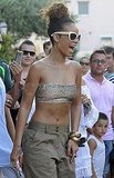 Rihanna Shops Prada in a Bikini Then Raises a Glass to the Freakin' Weekend