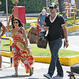 Kim Kardashian and Kris Humphries in Naples, Italy, Pictures