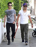 Joe and Kevin Jonas