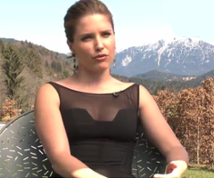 Video of Sophia Bush Talking About Chalet Girl, Bill Nighy, Brooke Shields and Ed Westwick