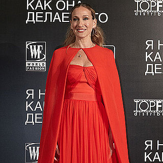 Sarah Jessica Parker in Prabal Gurung and Giambattista Valli
