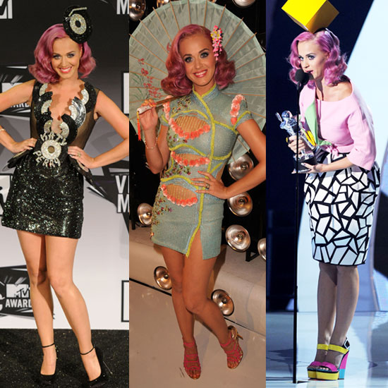 Peep Katy Perry's Four Outfit Changes at the VMAs — Which Look Is Most Fab?