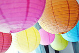 Rainbow Party Paper Lanterns