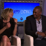 Eliza Coupe and Damon Wayans Jr. Interview For Happy Endings