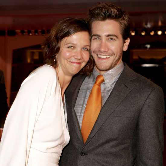 Maggie and Jake Gyllenhaal posed together at the 2005 premiere of Brokeback Mountain.