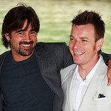Colin Farrell and Ewan McGregor hopped on a boat on their way to a photocall for Cassandra's Dream in 2007.